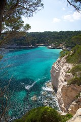 south coast of Menorca