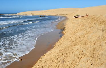 la costa di Valizas in uruguay