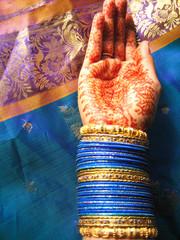 Henna and bangls