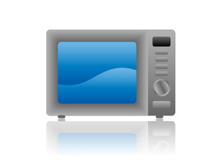 Microwave Oven Icon (electrical household appliances kitchen)