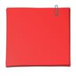 Papierstapel rot