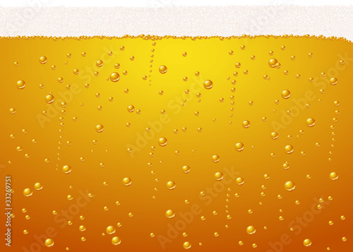Vector beer texture - bubbles very defined