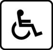 Behindert weiß