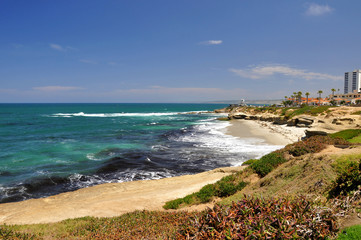 Beautiful La Jolla coastline