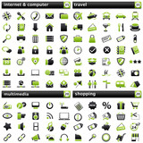 pack Icons IV green