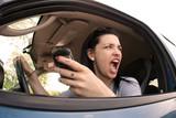 Road rage poster