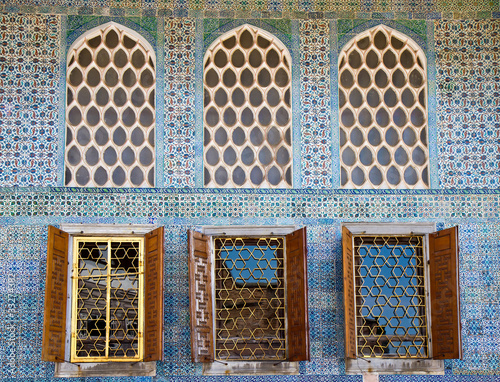 Arabesque Windows of the Topkapi palace