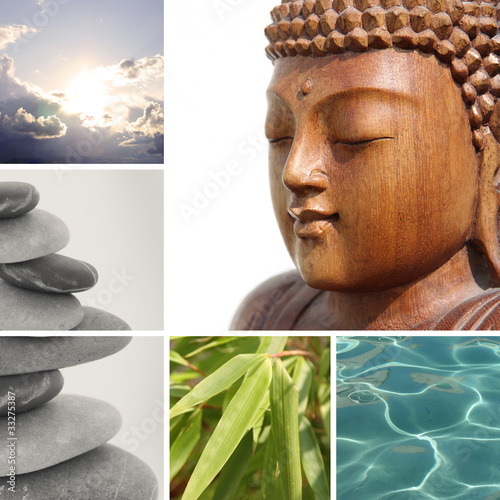 buddha collage II
