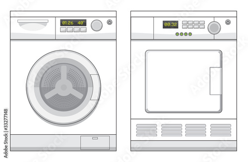 Washing Machine and Drier