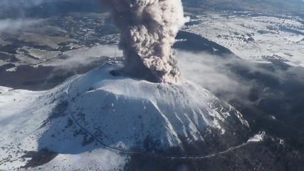Eruption du Puy-de-Dôme