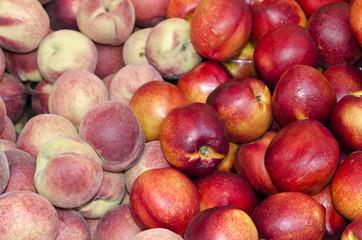 Nectarine-Pfirsich