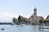 Fototapety Hafen von Wasserburg am Bodensee