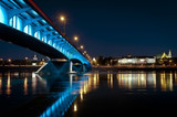 Night panorama of Warsaw - 33278755