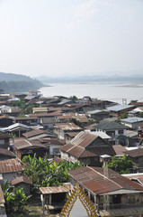 Villages Along The Mekong River
