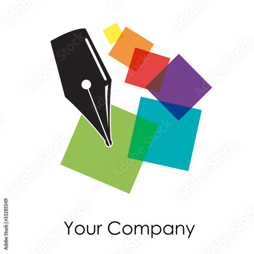 Logo digital printing # Vector