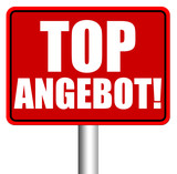Top Angebote! Button, Icon