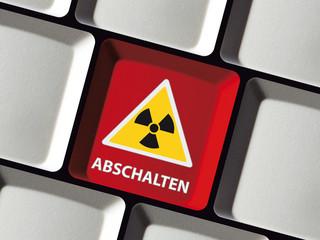 Tastatur Atomkraftwerke abschalten
