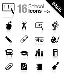 Basic - School Icons