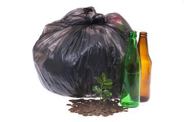 recycling pieniądze