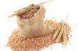 Säckchen Getreide