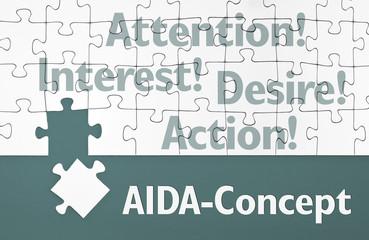 Puzzle mit AIDA
