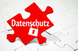 Puzzle mit Datenschutz