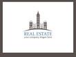 Immobilien Logo - Real Estate - Vector Template No. 10