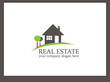 Immobilien Logo - Real Estate - Vector Template No. 11