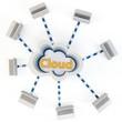 3d multi-layer Cloud computing concept