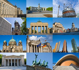 Fototapety Berlin Collage
