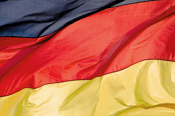 german flag in the wind 2