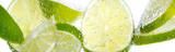 Pfefferminz-Limonen-Erfrischung
