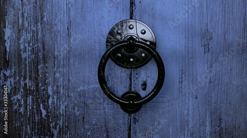 Old Wooden Door Opening HD