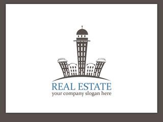 Immobilien Logo - Real Estate - Vector Template No. 13