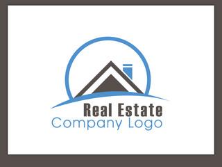 Immobilien Logo - Real Estate - Vector Template No. 17