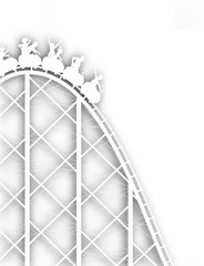 Rollercoaster cutout