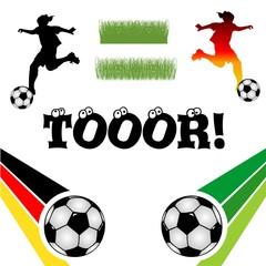 Fußball /Toor/