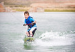 Young Boy learning to Wakeboard - 33307321