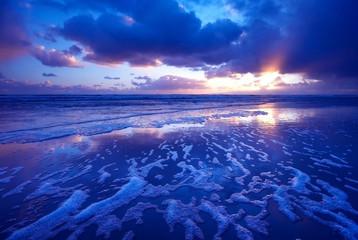 morning sea landscape