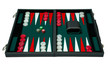 Backgammon board game - clipping path