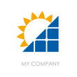 Logo solar energy # Vector