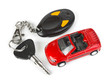 Toy car and keys