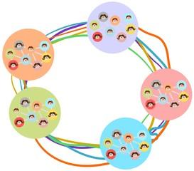 verbundene Netzwerke
