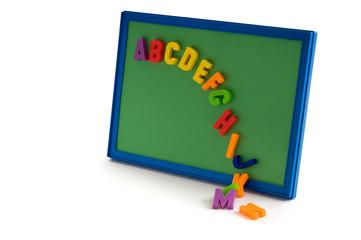 Absturz der Buchstaben