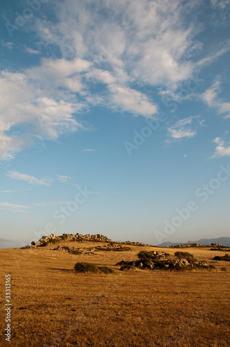 Sardinia, Italy: landscape of Gallura's countryside at summer