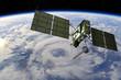 Leinwandbild Motiv Modern GPS satellite