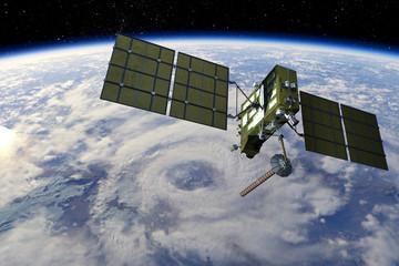 Modern GPS satellite