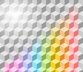 Abstract vector rainbow background. Eps 10
