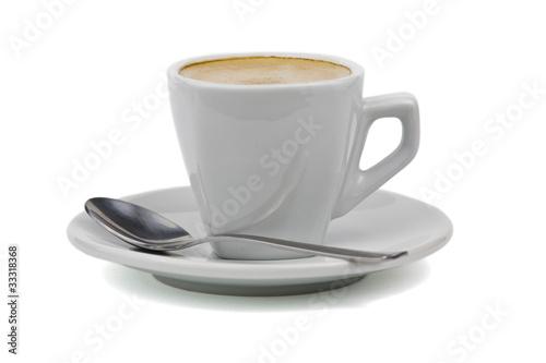 Taza de café aislada