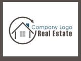 Immobilien Logo - Real Estate - Vector Template No. 9